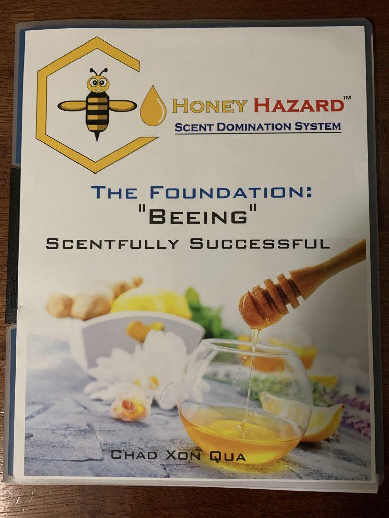 Printed Honey Hazard book